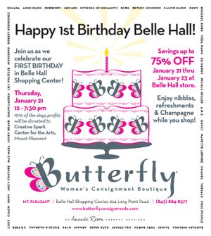 Butterfly First Birthday Belle Hall