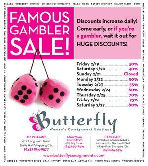 ButterflyGamblersSale