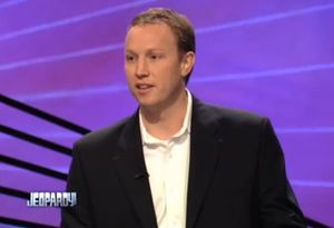 Jonathan Sanchez, owner of Blue Bicycle Books, finished second on Jeopardy!