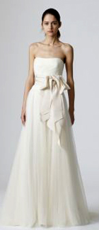 Vera Wang Spring 2010 Bridal Collection will be featured in a Trunk Show at maddison row
