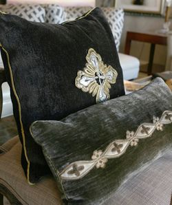 Haute Design, Charleston's Design Boutique, is the exclusive Charleston boutique where you can find Juliana Antique Textiles Pillows.