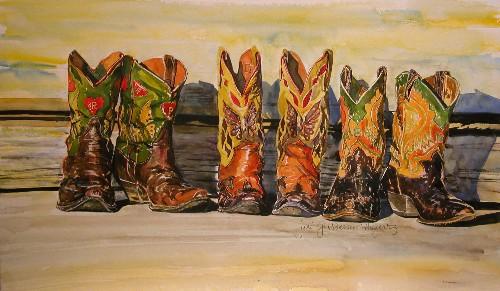 Second Vintage Cowboy Boot Extravaganza At Seeking Indigo