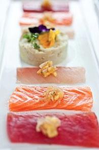 O-Ku Sushi showcases the freshest fish from the world's finest markets