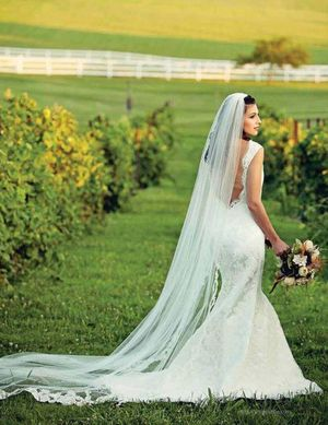 Modern Trousseau Kennedy Gown Featured in HERLIFE Magazine September Issue