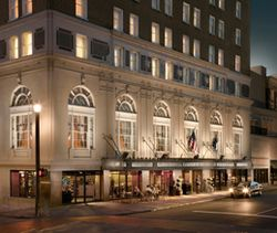 Francis Marion Hotel is an elegant vacation destination located in the Upper King Design District.