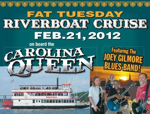 Fat Tuesday Riverboat Cruise from Charleston Harbor Tours