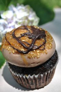 Salted Caramel Chocolate cupcake at Cupcake on King