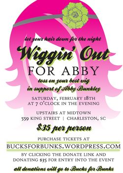 Wiggin Out For Abby Event to Raise Money for Bucks for Bunks