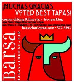 Barsa Voted Best Tapas Charleston Best Of Awards