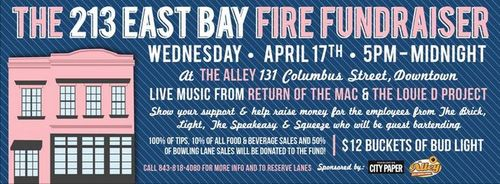 213 East Bay Fire Fundraiser
