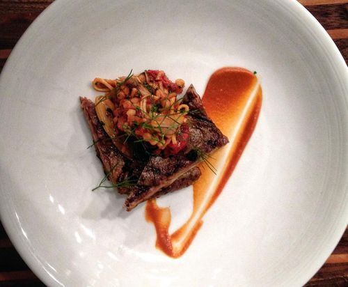Grilled Beef Belly at The Macintosh Charleston SC