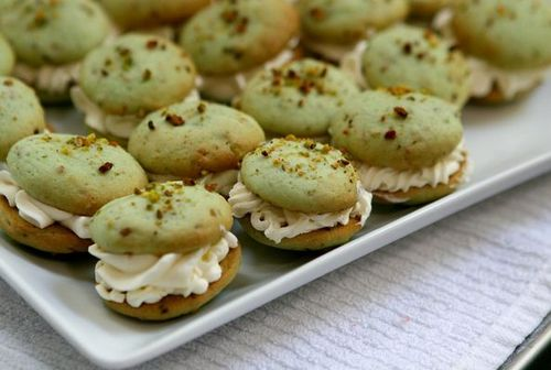 Pistachio Whoopie Pies at P.I.E. Bake Shoppe