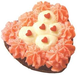 Valentine's Day Heart Cake from Cupcake on King Street