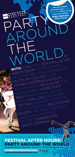 Charleston Wine and Food Festival Party Around the World