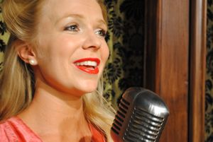 The Girl Singer at the Village Repertory Co