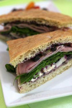 P.I.E. Bake Shoppe Ham and Blueberry Sandwich2