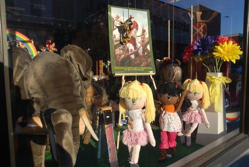 Magnifilous Toy Emporium Salutes Piccolo Spoleto Festival