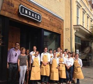 Indaco restaurant opens in the Upper King Design District
