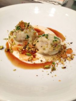 The Macintosh Lamb Ravioli