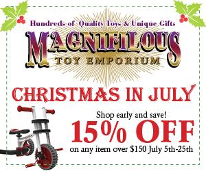 Magnifilous Toy Emporium Christmas in July
