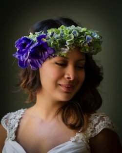 Floral Headpiece Anna Bella Florals