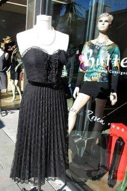 Black Lace Betsey Johnson Dress