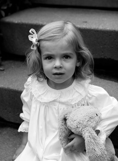 Portrait of Olivia and Bunny Charleston SC by Susan Lucas Photography Sherman CT
