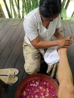Seeking Indigo Aromatherapy Foot Scrub