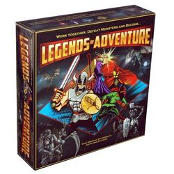 Legends of Adventure Board Game