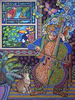 Cello Player Daniella Willet-Rabin