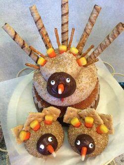 Cupcake DownSouth Thanksgiving Cupcakes