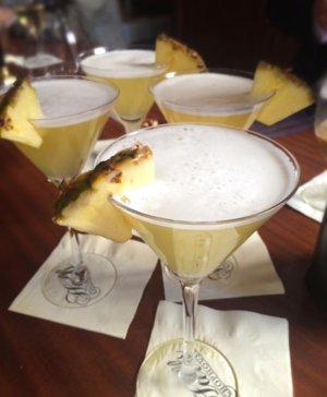 Halls Chophouse 434 Pineapple Martini