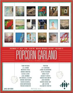 Popcorn Garland Michael Mitchell Gallery