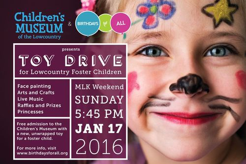 Childrens Museum Toy Drive