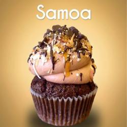 Somoa Cupcake