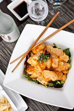 O-Ku Rock Shrimp Salad