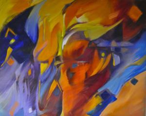 Doris Colbert Kennedy painting