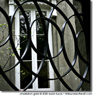 Art photograph Charleston Gate
