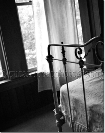 Bedroom, Norway Maine photograph by Susan Lucas Photographer